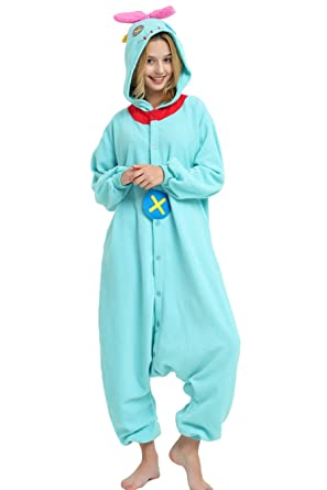 10f4f7637 Lilo & Stitch Scrump The Doll Onesie for Adults and Teens. (S) Blue