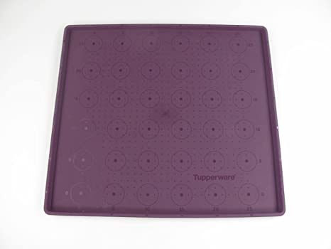 Amazon.com: TUPPERWARE SILICONE BAKING SHEET / MAT (Purple ...