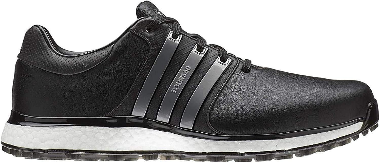 adidas TOUR360 XT-SL, Zapatillas de Golf para Hombre, Negro (Negro/Plata Bb7916), 42 2/3 EU: Amazon.es: Zapatos y complementos