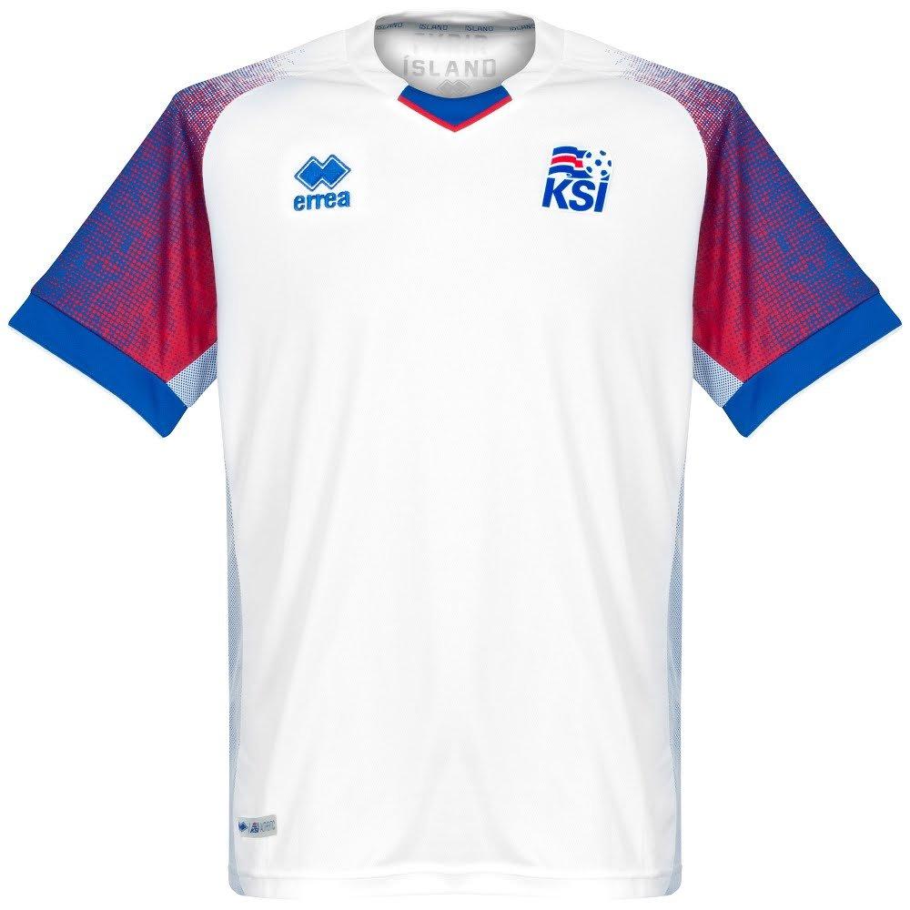 a9a401ccd79 Errea Iceland Away Shirt 2018 2019  Amazon.co.uk  Sports   Outdoors