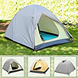 YUEBO 2 Person Dome Tent, Lightweight Camping Tent Waterproof, 3 Season Backpacking Tent
