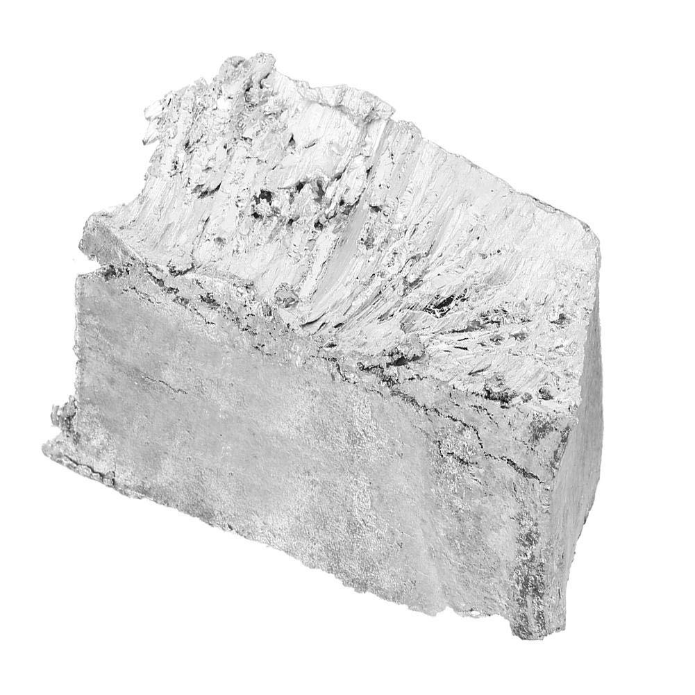 2.2lb High Purity 99.995/% Zinc Zn Metal Lump Block Sample Ingot for Experiments and Production 1kg Zinc Lump