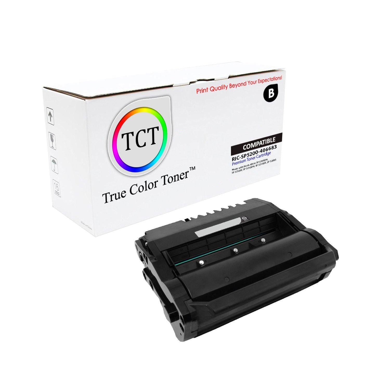 Amazon.com: True de tóner de color 406683 Ricoh SP5200 negro ...