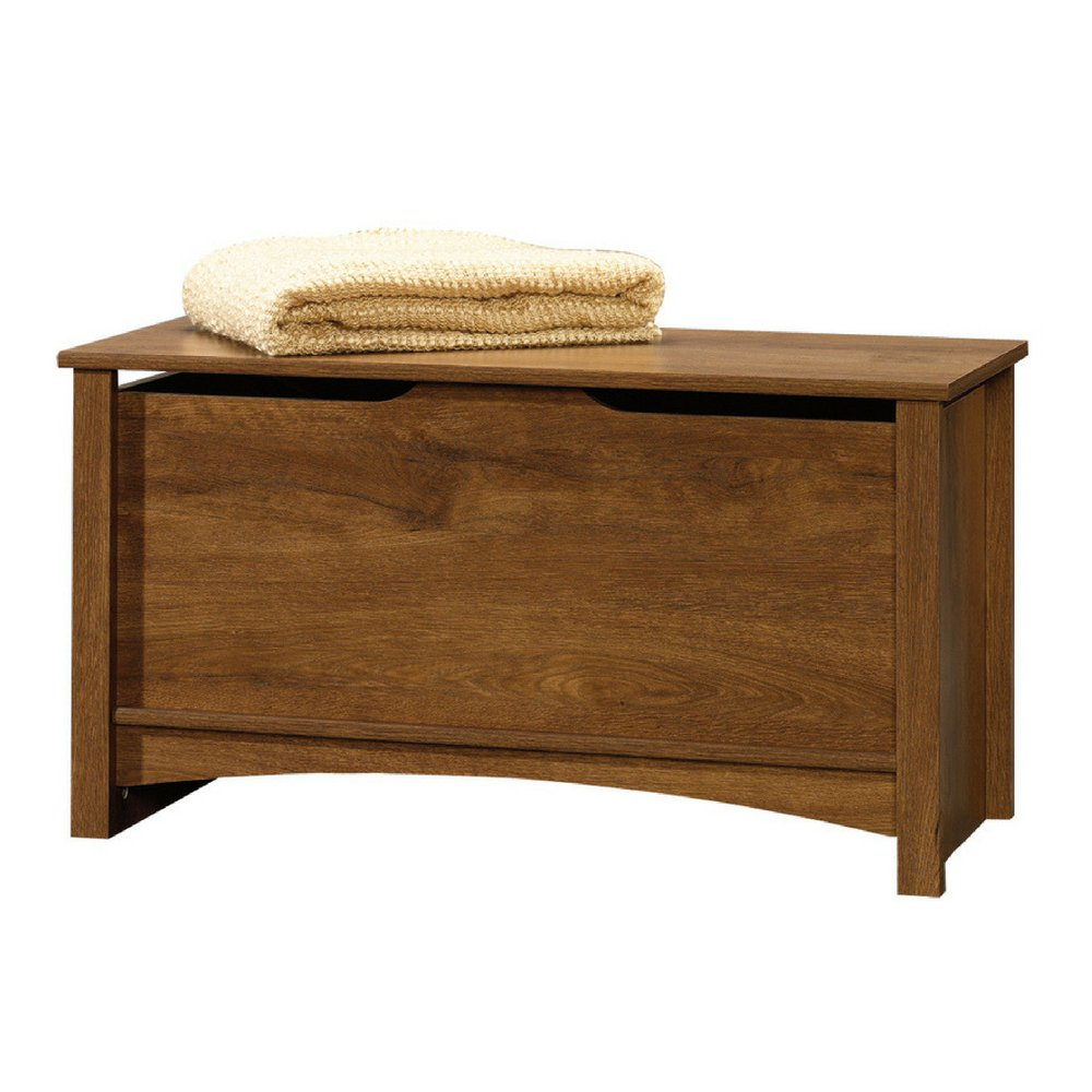 Trunk storage large chest oak bench toy box furniture organizer bedroom blanket chest office home decor lid stay unique furniture home living room ebook