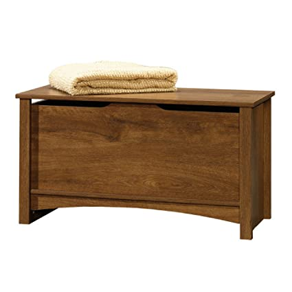 Amazon.com: Trunk Storage Large Chest Oak Bench Toy Box ...