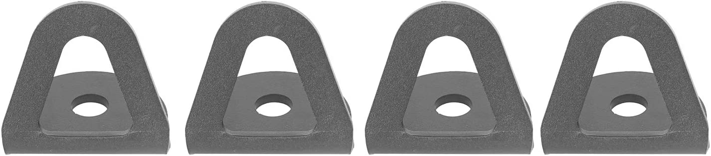 Hooke Road Tacoma Bed Tie Down Hooks Compatible with Toyota Tacoma 2nd 3rd Gen 05-20 Pickup Truck Pack of 4