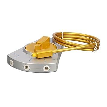 3 Puerto Maxhood óptica Digital interruptor 3-en-1 out, Toslink Audio fibra