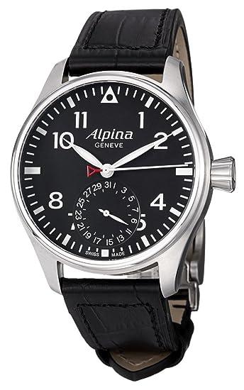 Alpina Geneve Startimer Manufacture AL-710B4S6 Reloj para hombres Alpina Rotor: Amazon.es: Relojes