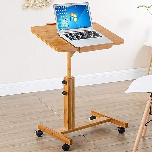 Escritorio de computadora ajustable en altura, soporte de mesa ...