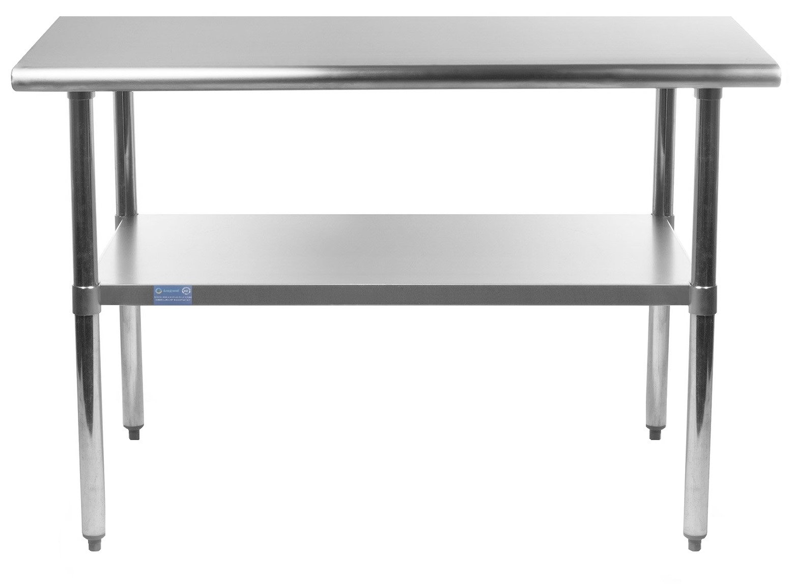 AmGood Stainless Steel Work Table with Undershelf | Food Prep NSF | Utility Work Station | All Sizes (36'' Length X 30'' Width)