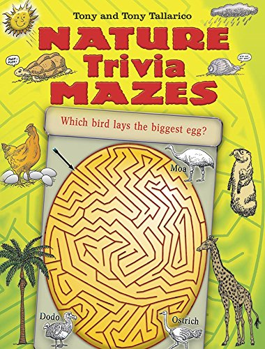 Nature Trivia - Nature Trivia Mazes (Dover Children's Activity Books)