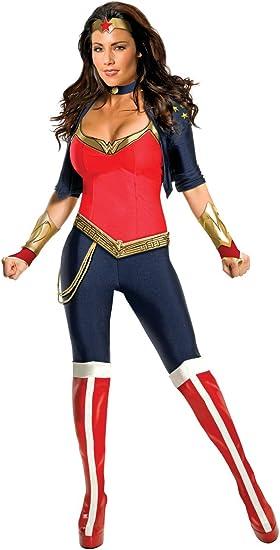 Disfraz de Wonder Woman deluxe para mujer - L: Amazon.es: Juguetes ...