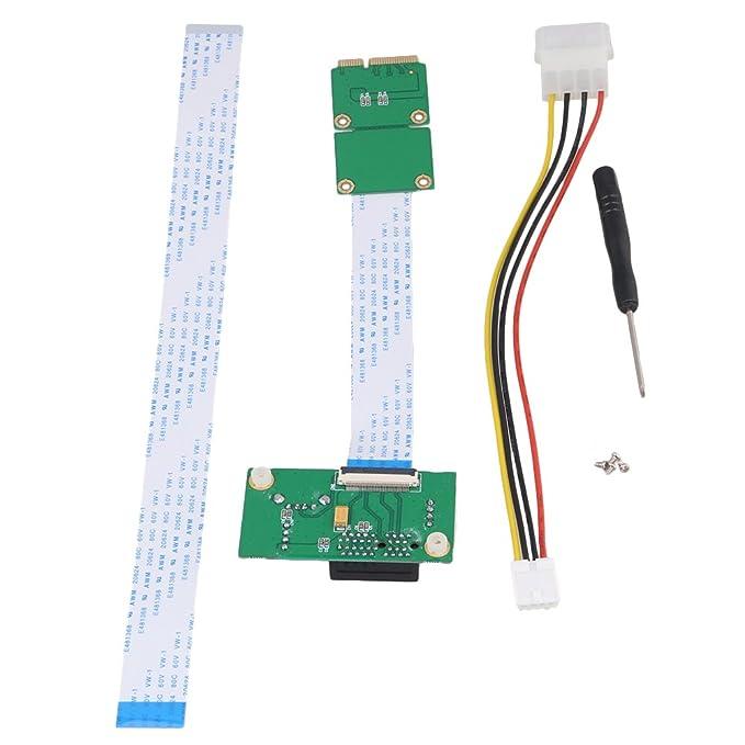 1 opinioni per BQLZR Mini PCI-E pci-e Express 1X +USB Rialzato Scheda con FFC cavo fino al