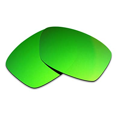 HKUCO Plus Replacement Lenses For Oakley Jupiter Squared Sunglasses Green Polarized cTD1F1p