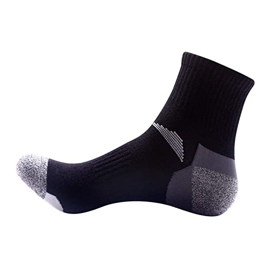 Men Quick Drying Sports Socks Outdoor Hiking Camping Cycling Socks Running Socks