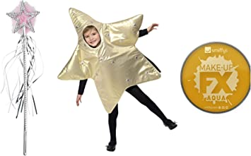 Fancy Dress World - Disfraz de Estrella de Belén para niños con ...