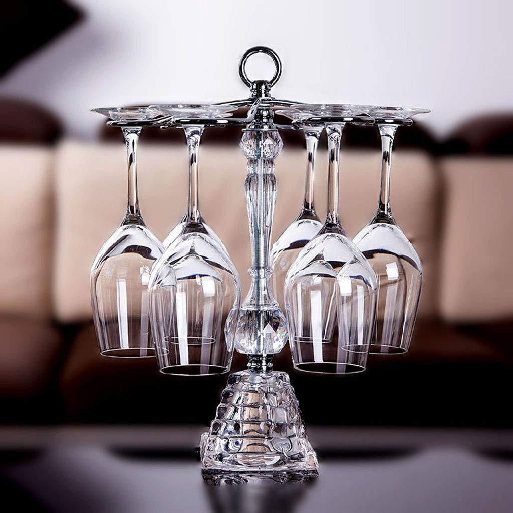 WAN SAN QIAN- Red Wine Glass Holder, Upside Down Home Decoration Hanging Frame,Goblet Holder Wine rack