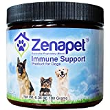 Zenapet Dog Immune Support-Immune Booster For Dogs-Safeguard Your Dog's Immune System-Premier Superfood Supplement for your Pet-Natural Vitamins For Dogs in Food Form With Antioxidant Support Review