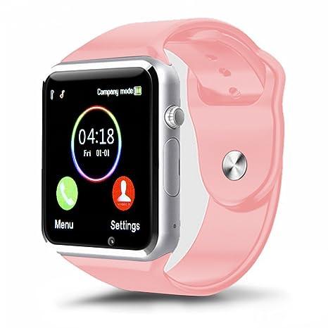 Reloj inteligente Padgene 2017 Nuevo modelo A1 Reloj de pulsera Fitness Bluetooth con pantalla táctil.