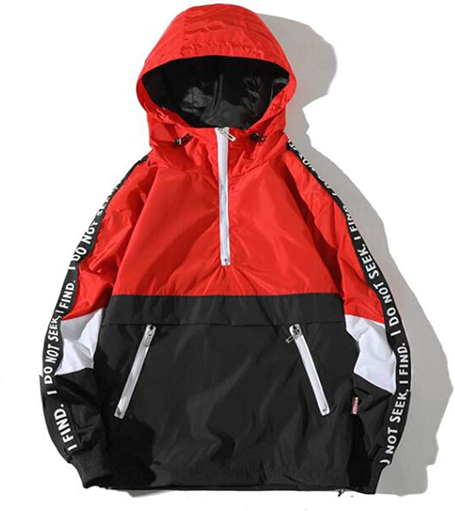 FiMi Mens Autumn Winter Style Loose Hooded Assault Coat Large Size Jacket Clothing