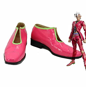 Cosplay Adventure Pannacotta Rouge Bizarre Fugo Jojo 5 S Chaussures 8kPNwnO0X