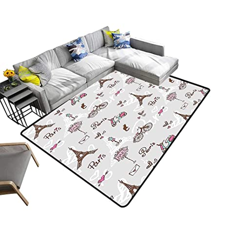 Amazon.com: Alfombra de baño Alsohome Super Cozy, alfombra ...
