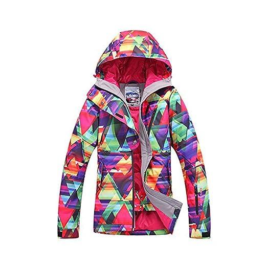 fd53f2b335 Amazon.com  New Women Winter Waterproof Windproof Insulatd Snowboarding  Jackets Ski Snow Coats  Clothing
