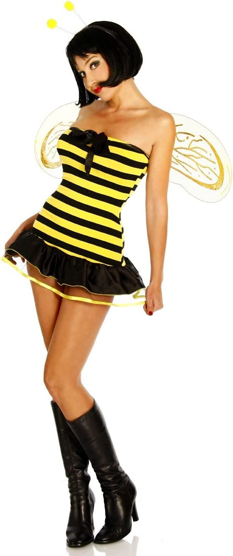 süsses Abejas Disfraz de vestido amarillo/negro Carnaval Visitando ...