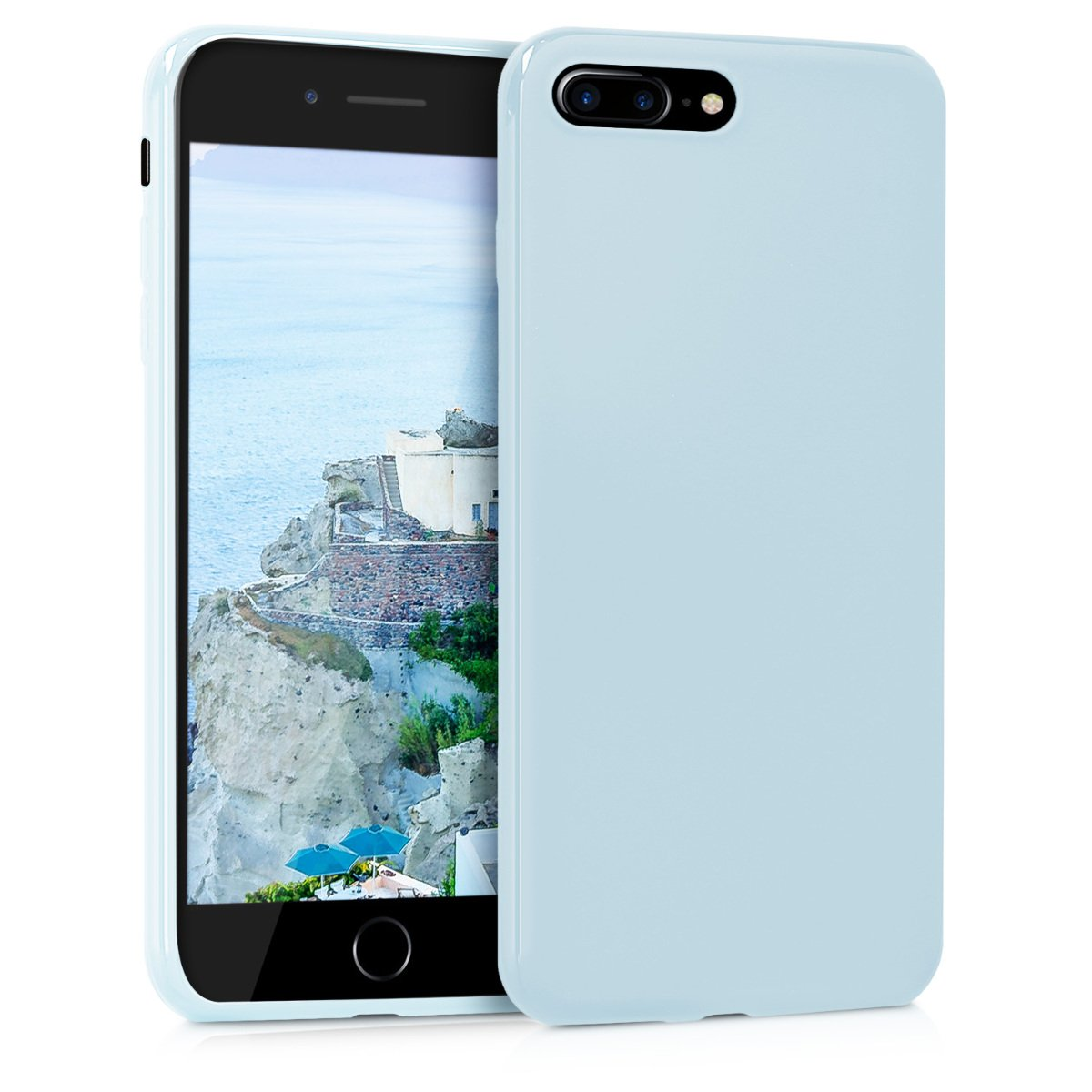 kwmobile TPU Silicone Case Compatible with Apple iPhone 7 Plus / 8 ...
