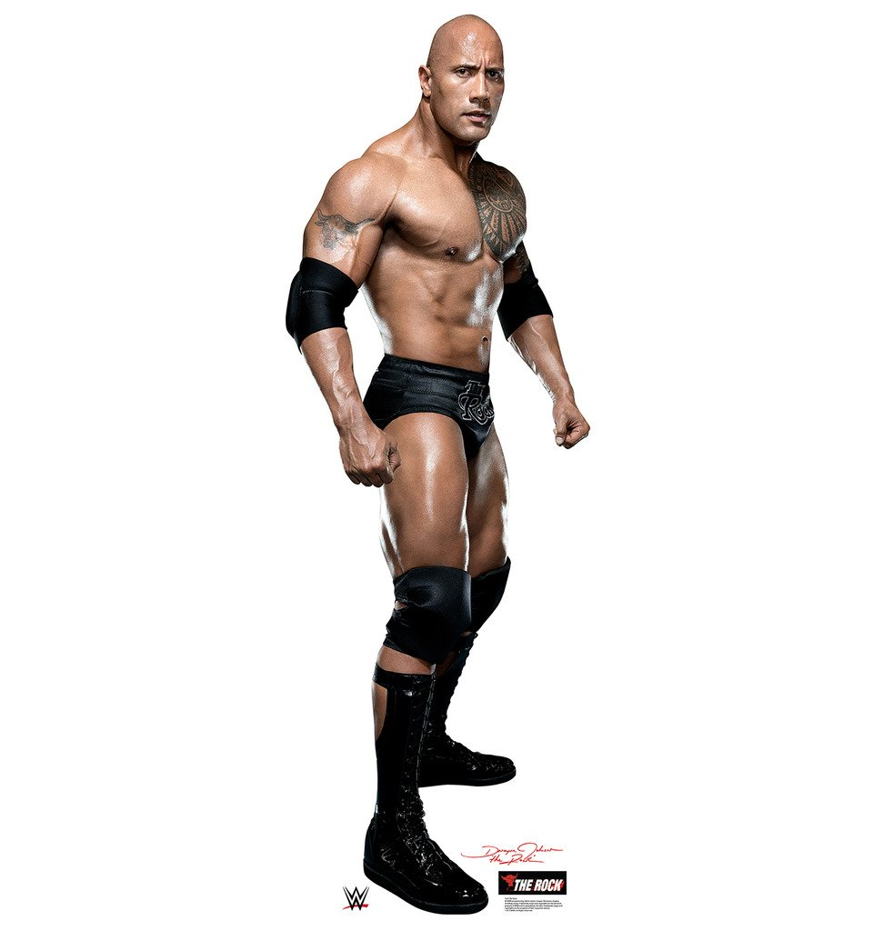 The Rock - WWE - Advanced Graphics Life Size Cardboard Standup by Advanced Graphics (Image #1)