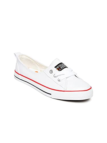 b12ad60a1cc Kook N Keech Women White Casual Shoes (8UK)  Buy Online at Low ...