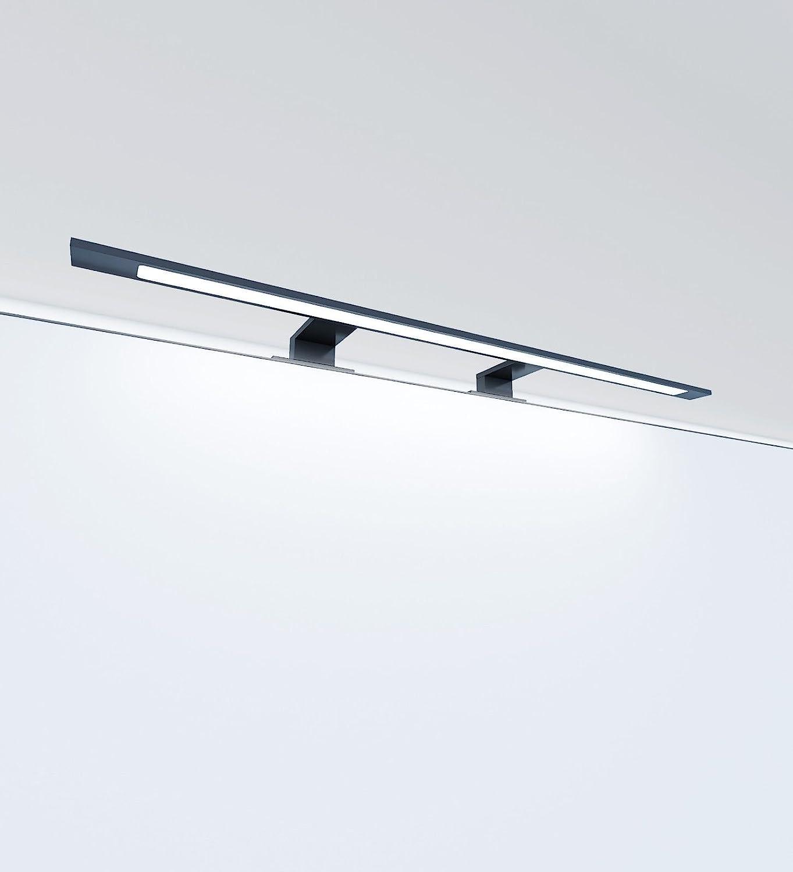 Design Light Amber Noir DEL de salle d/'eau miroir luminaire kaltweiß 6000k