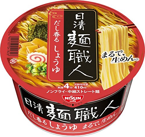 Nissin noodles craftsman soy sauce 90g ~ 12 pieces by NichiShinmen craftsman