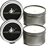 Mystic Arabian Knights x 2 Ecosoy Scented Candles - Tins - Vegan & Cruelty Free