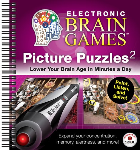 Electronic Brain Games: Picture Puzzles (Electronic Brain Games)