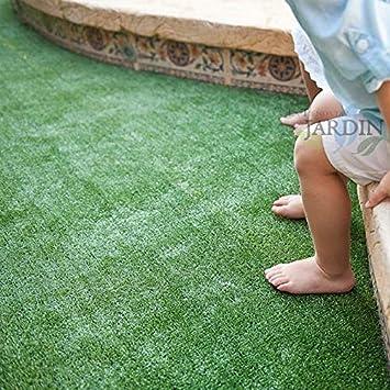 CESPED ARTIFICIAL MOQUETA 7mm para ferias, terrazas, balcones. (1 x 5 m): Amazon.es: Bricolaje y herramientas