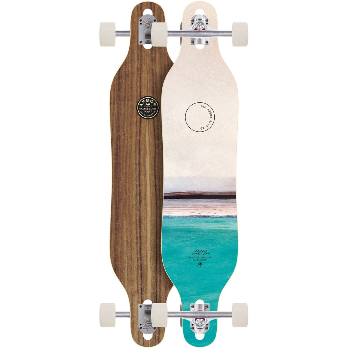 Arbor Axis 40 Complete Skateboard (Photo, 2018)