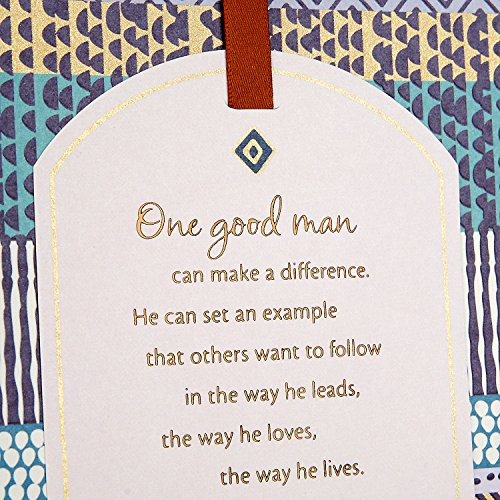 Hallmark Mahogany Father's Day Greeting Card (Good Man Who Makes a Big Difference) Photo #6