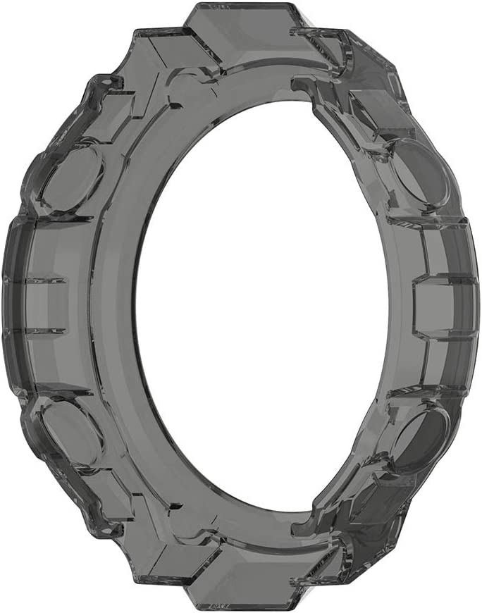 Silicona TPU de Repuesto para Funda Protectora a Prueba de Golpes e irrompible para Amazfit T-Rex Smartwatch Funda para Amazfit T-Rex Smartwatch