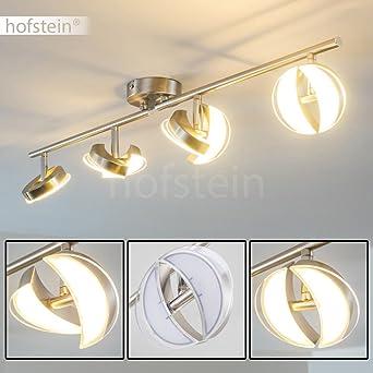 LED Deckenlampe Quinte 8-flammig - Deckenleuchte mit verstellbaren ...