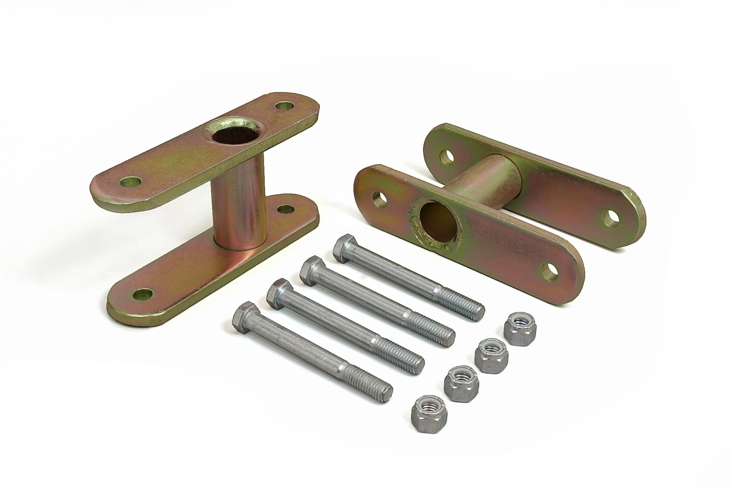 Daystar, Jeep YJ Wrangler ½'' Rear Lift NonGreasable Shackle, fits 1987 to 1996 2/4WD, KJ60011, Made in America