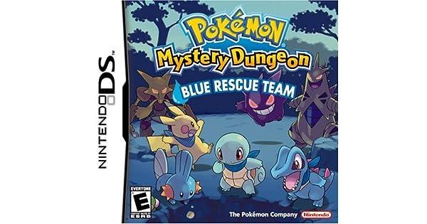 PokTmon Mystery Dungeon Blue Rescue Team (Nintendo DS ...