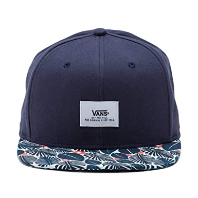 e3df7b0595a Vans Off The Wall Men s Walmer Snapback Hat Cap - Navy French Blue ...