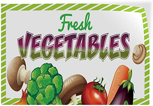 Set of 10 20inx14in Decal Sticker Multiple Sizes Organic Produce #1 Business Organic Produce Outdoor Store Sign Purple