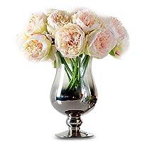 TININNA Elegante Tocco Reale Artificiali Bouquet di peonie in seta Fiori di seta Per Wedding Casa Decor Matrimoni Decor
