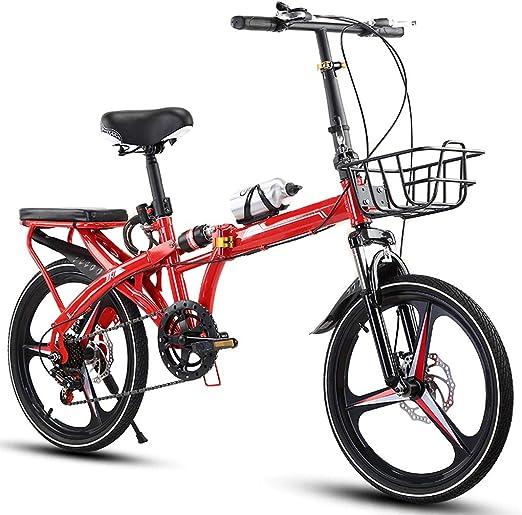 TXTC Bicicleta Mujer Compacto Bicicleta Plegable For Los Jóvenes ...