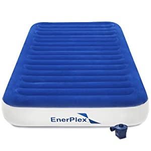 EnerPlex 2019 Luxury Camping Twin Size Air Mattress