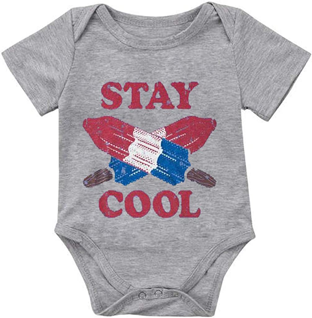 Yousity Toddler Infant Newborn Baby Boys Girls Letter Print Taco Little Burrito Romper Bodysuit Clothes Outfits Set