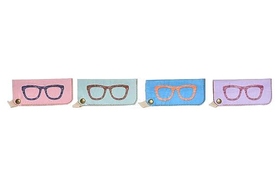 DISOK Lote de 12 Fundas de Gafas de Sol Cartón 100 ...