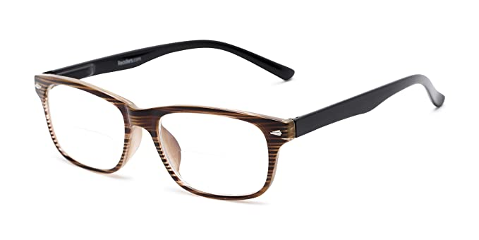 de28bee5382c Readers.com Bifocal Reading Glasses: The Williamsburg Bifocal for Men and  Women - Stylish